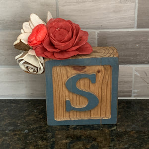 Wooden Block Decor
