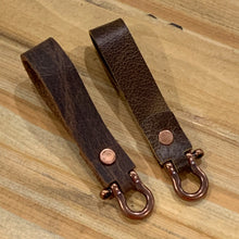 Load image into Gallery viewer, Leather Key Fobs