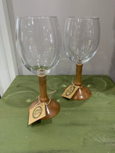 Load image into Gallery viewer, Wooden Stemmed Glassware