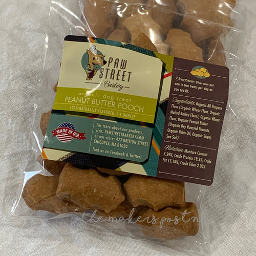 Peanut Butter Pooch Dog Treats
