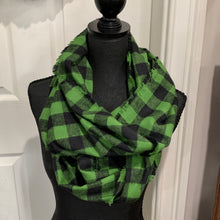 Load image into Gallery viewer, Flannel Infinity Scarves