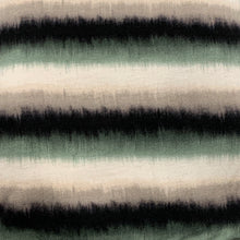 Load image into Gallery viewer, Face Mask/Gaiter: Fuzzy Green Stripe
