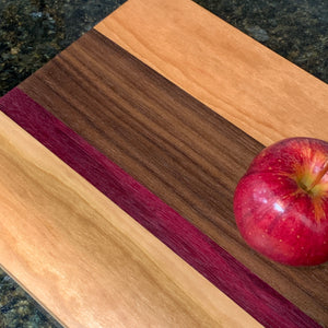 Hybrid Exotic Wood Cutting Boards