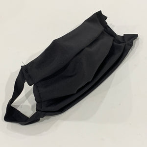 Face Mask: Adult Solid Black
