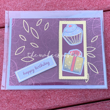 Load image into Gallery viewer, Stamped Birthday Greeting Card