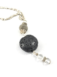 Essential Oil Diffuser Necklace with Facet Beads