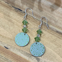Load image into Gallery viewer, Lilly Pilly Aluminum Dangle Earrings