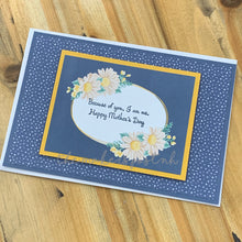 Load image into Gallery viewer, Stamped Mother's Day Greeting Card