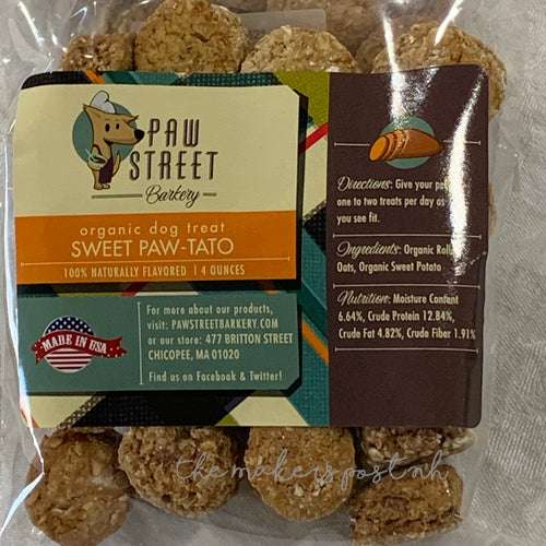 Sweet Paw-tato Dog Treats