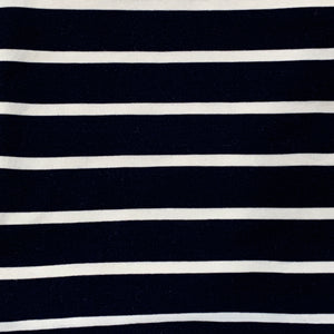 Face Mask/Gaiter: Navy stripe