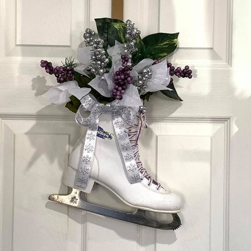 Ice Skate Door Decor Workshop