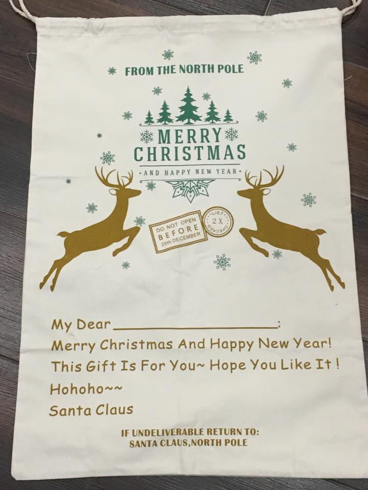 Customized Santa Sack