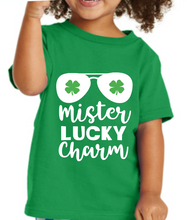 Load image into Gallery viewer, Boys / Toddler Mister Lucky Charm St Patricks Kids Shirt