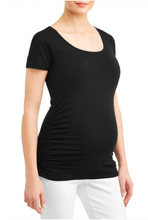 Load image into Gallery viewer, I've Been Creating a Tiny Human What Have You Done Today Pregnancy Maternity Shirt