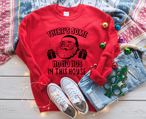 There's some Ho Ho Hos in This House Christmas Sweater