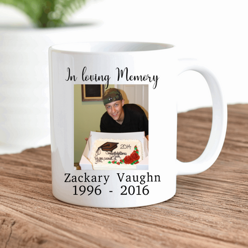In Loving Memory Memorial Keepsake Mug