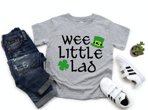 Boys / Toddler Wee Little Lad St Patricks Kids Shirt