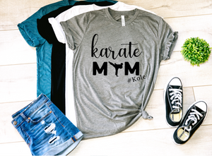 Karate Mom Personalized Shirt
