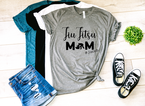 Jiu Jitsu Mom Personalized Shirt