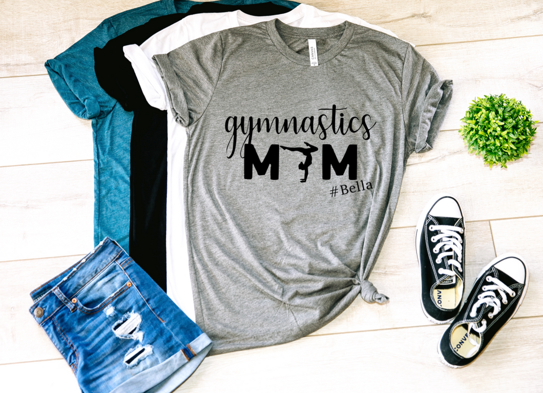 Gymnastics Mom Personalized Shirt