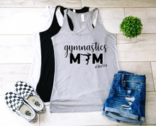 Load image into Gallery viewer, Gymnastics Mom Personalized Tank-Top