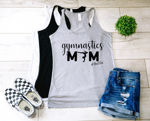 Gymnastics Mom Personalized Tank-Top
