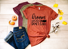 Load image into Gallery viewer, Broom Hair Don't Care Halloween Shirt