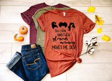 Load image into Gallery viewer, Oh Look Another Glorious Morning Makes Me Sick Halloween Shirt