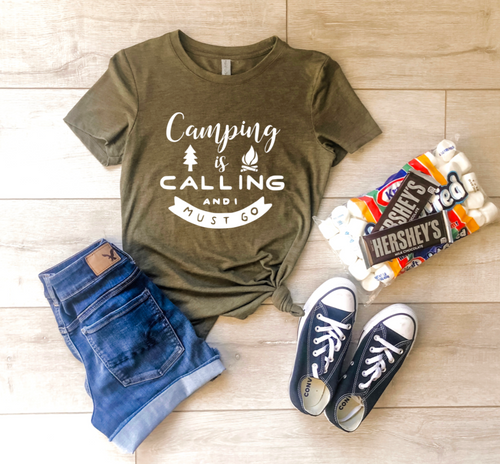 Camping Is Calling Shirt