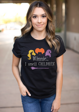 Load image into Gallery viewer, I Smell Children Hocus Pocus Shirt