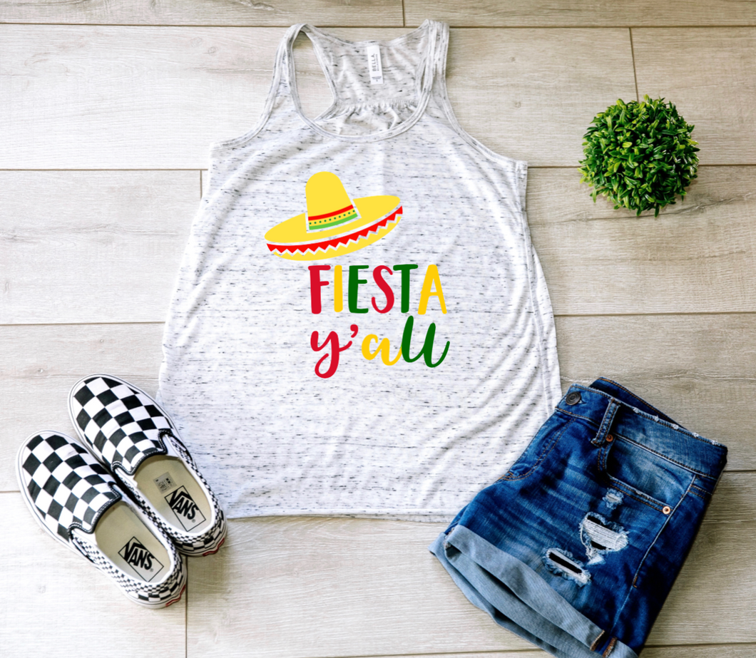 Fiesta Y'all Tank Top