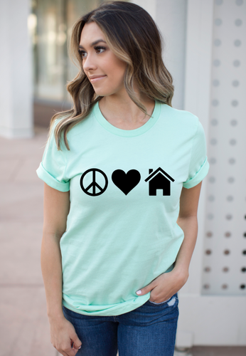 Peace Love Realtor Shirt