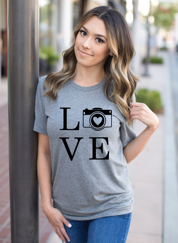 LOVE Photographer Shirt