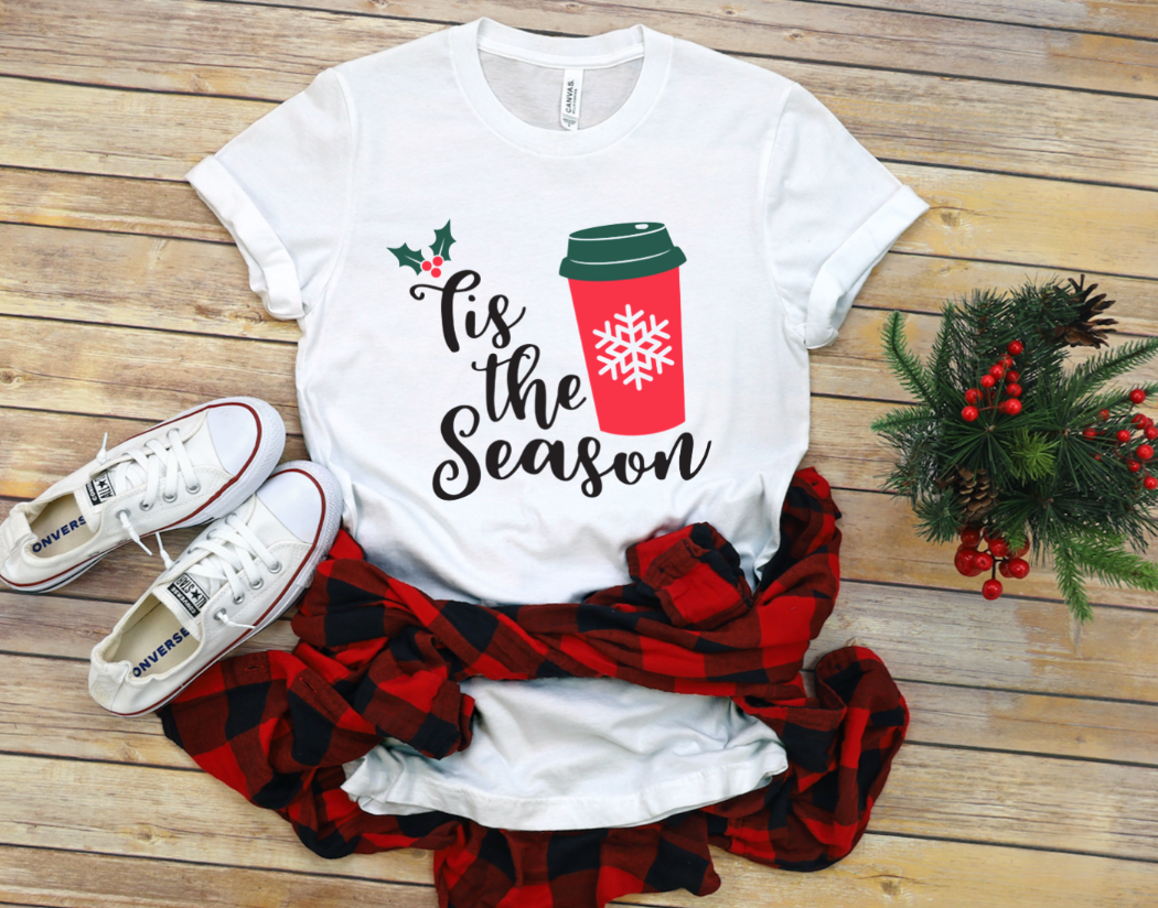 'Tis the Season Red Cup Coffee Christmas Shirt