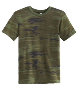 Happy Camper Camouflage Shirt