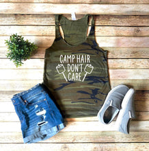 Load image into Gallery viewer, Camp Hair Don't Care Shirt