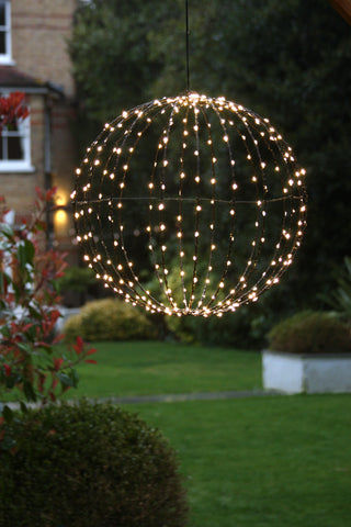 Sphere with lights