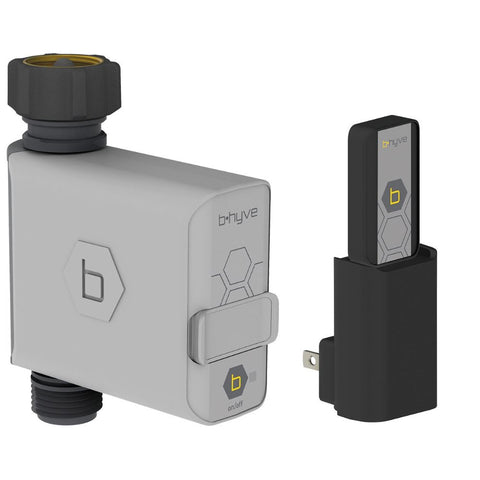 Image of Orbit B-Hyve Smart Hose Faucet Timer with Wi-Fi Hub
