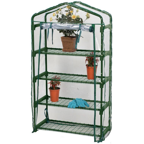 Bloom 4-Tier Greenhouse - Plant Support