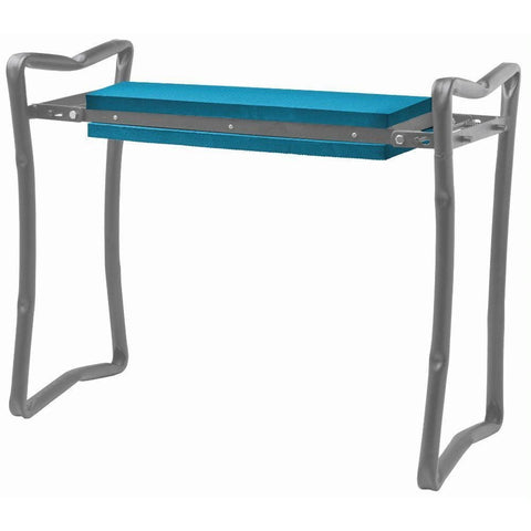 Foldable Garden Bench/Kneeler - Blue - Garden