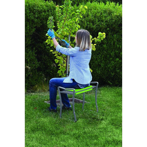Image of Foldable Garden Bench/Kneeler - Garden