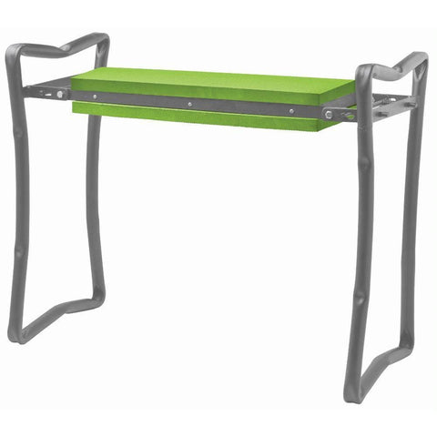 Foldable Garden Bench/Kneeler - Green - Garden