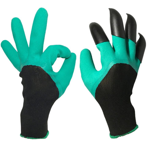 Garden Gloves with Sturdy Fingertips Claws