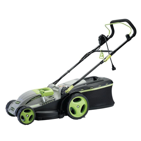 LawnMaster Electric 2-in-1 Lawn Mower 15 Inch