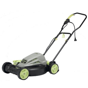 LawnMaster Electric 2-in-1 Lawn Mower 18 Inch