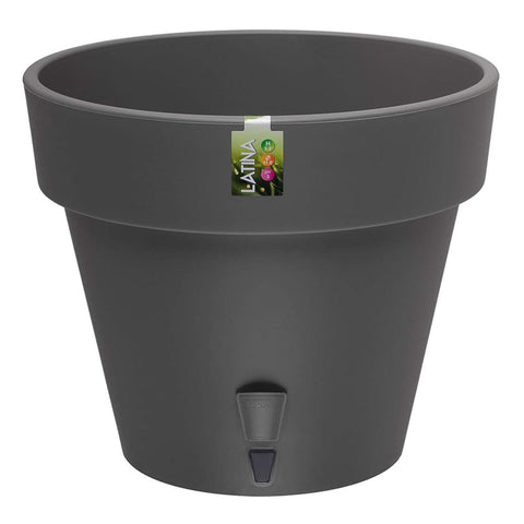 Self Watering Flower Pot - Graphite