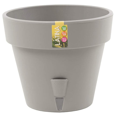 Self Watering Flower Pot - Grey