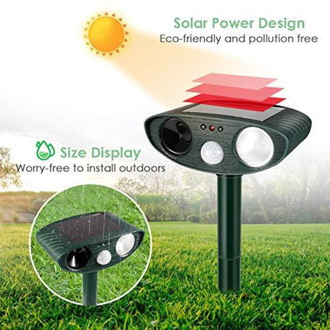 Solar Powered Pest Repellent