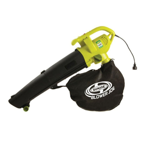 Sun Joe Blower Joe 3-IN-1 Electric Blower Vacuum & Leaf Shredder SBJ604E