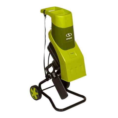 Sun Joe CJ602E Electric Wood Chipper 17:1 Reduction · 15 Amp Green